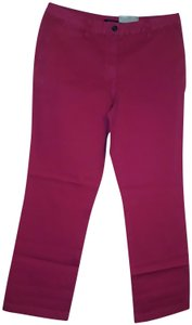 Westbound Cotton Straight Pants Pink