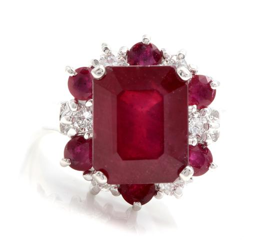 Preload https://img-static.tradesy.com/item/25020836/white-gold-745-carats-natural-red-ruby-and-diamond-14k-solid-ring-0-0-540-540.jpg