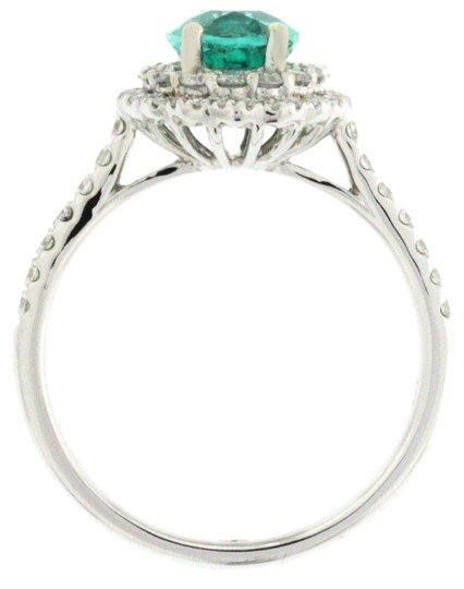 Preload https://img-static.tradesy.com/item/25021028/white-gold-african-emerald-and-diamond-18k-engagement-ring-0-1-540-540.jpg