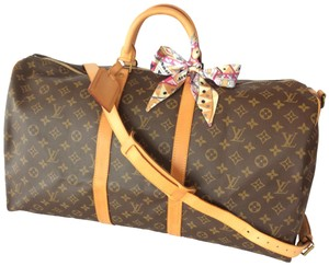 Louis Vuitton Keepall Bandouliere Luggage Keepall Bandouliere Monogram  Travel Bag 599abde85d83a