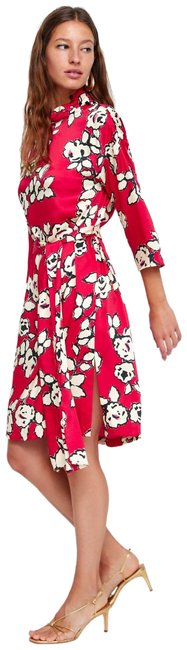 Preload https://img-static.tradesy.com/item/25021343/zara-red-new-floral-tied-belt-small-mid-length-night-out-dress-size-4-s-0-1-650-650.jpg