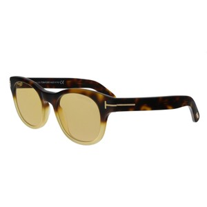 437cc59fe98 Yellow Tom Ford Sunglasses - Up to 70% off at Tradesy