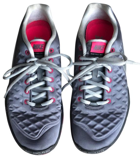 Nike Silver Metallic and Pink Extra Light Sneakers Size US 9 Regular (M, B) Nike Silver Metallic and Pink Extra Light Sneakers Size US 9 Regular (M, B) Image 1
