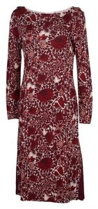 Red Maxi Dress by Tory Burch Floral Print Longsleeve