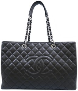b9f300916b22 Chanel Grand Shopping Tote - Up to 70% off at Tradesy