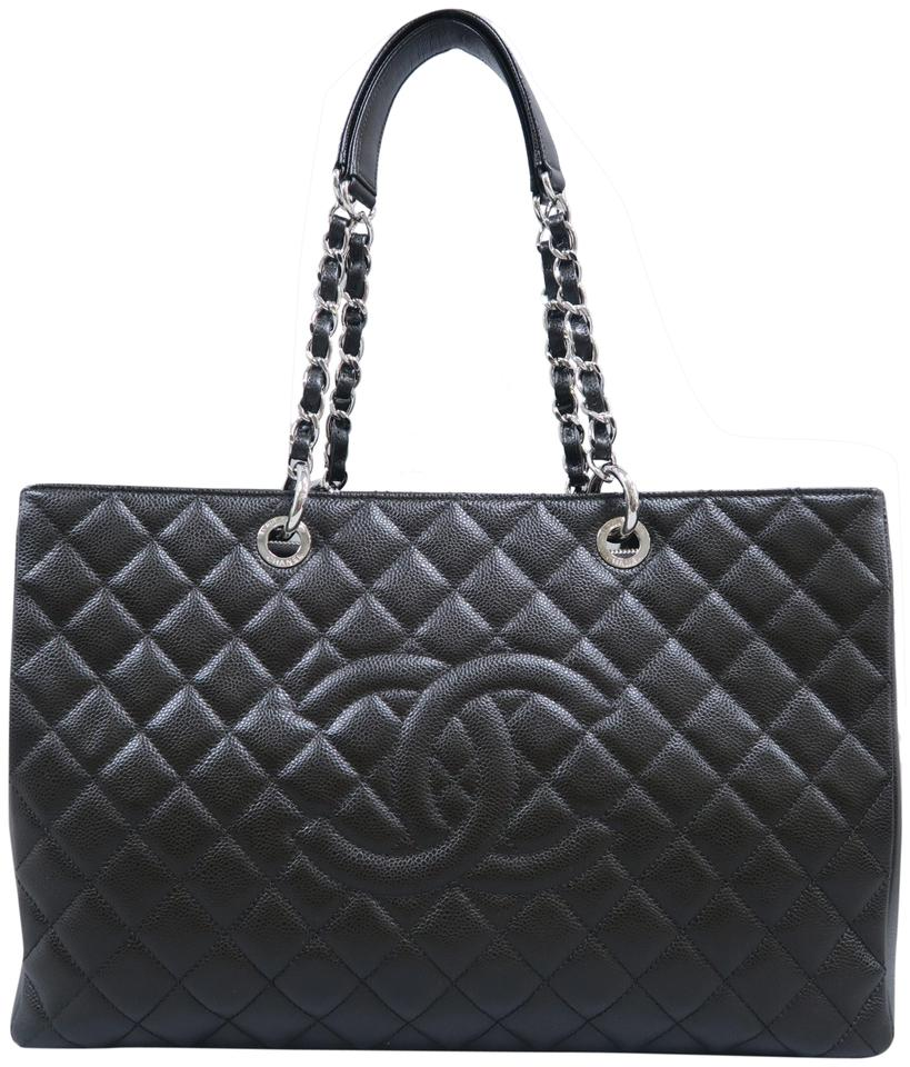 4126337bac3e Chanel Shopping Tote Xl Grand (Gst) Darkbrown Caviar Shoulder Bag ...