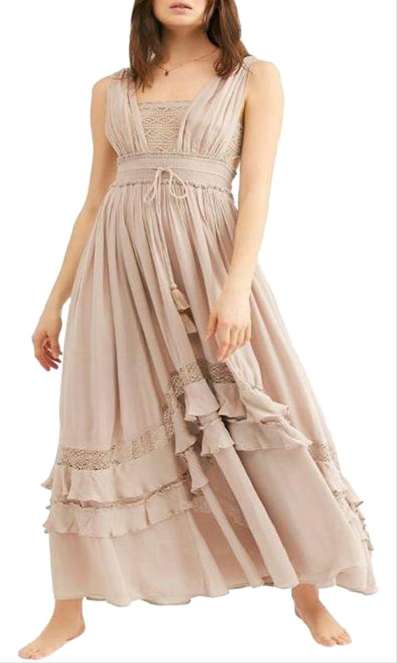 03aaf6d185e Beige Free People Casual Maxi Dresses - Up to 70% off a Tradesy