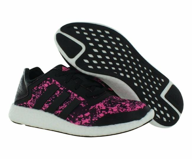 adidas Black Pure-boost Q4 Running Shoes/Sneakers Sneakers Size US 9.5 Regular (M, B) adidas Black Pure-boost Q4 Running Shoes/Sneakers Sneakers Size US 9.5 Regular (M, B) Image 1