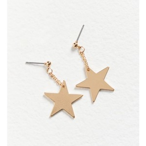 Urban Outfitters urban penny charm drop post earring