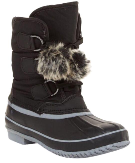Item - Grey Addy Faux Fur Lined Weather Boots/Booties Size US 6 Regular (M, B)