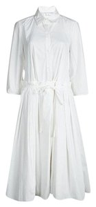 White Maxi Dress by Diane von Furstenberg Cotton Polyester