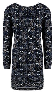 Kenzo short dress Blue Polyester on Tradesy