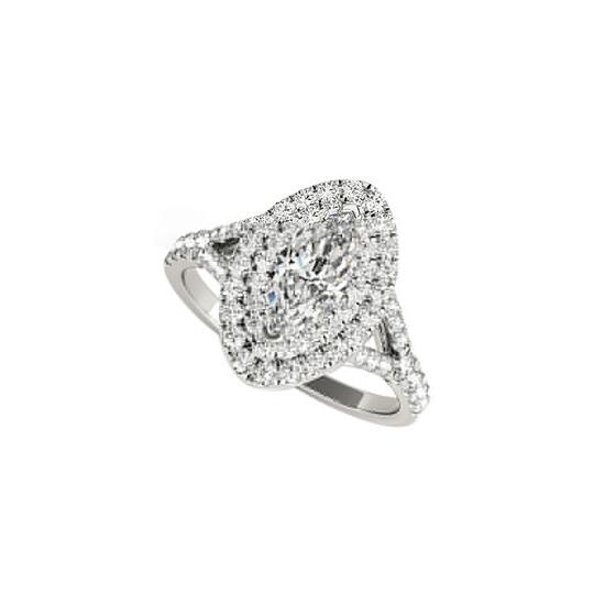Preload https://img-static.tradesy.com/item/25022362/white-double-halo-marquise-cz-engagement-gold-ring-0-0-540-540.jpg