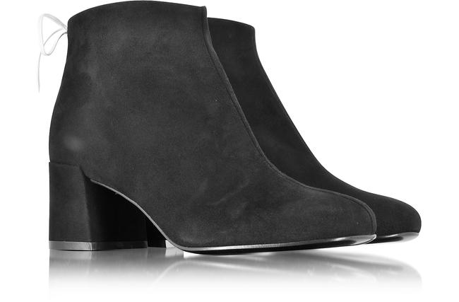 MCQ by Alexander McQueen Black Pembury Whip Stitch Suede Ankle Boots/Booties Size EU 41 (Approx. US 11) Regular (M, B) MCQ by Alexander McQueen Black Pembury Whip Stitch Suede Ankle Boots/Booties Size EU 41 (Approx. US 11) Regular (M, B) Image 1