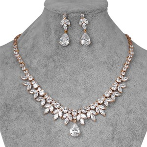 Silver Brilliant Ravishing # 311 Gold Tone Jewelry Set