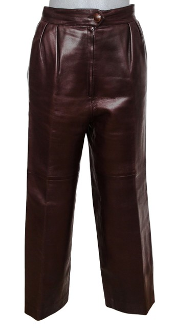 Preload https://img-static.tradesy.com/item/25023269/hermes-brown-leather-high-waisted-trouser-sheepskin-40-vintage-pants-size-4-s-27-0-0-650-650.jpg