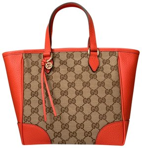 Gucci Tote in orange