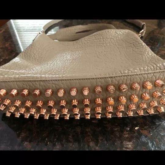 Alexander Wang Studded Rose Gold Sold Out Leather Tote in Latte/Beige Image 3