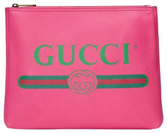Preload https://img-static.tradesy.com/item/25023626/gucci-medium-pouch-pink-calf-leather-clutch-0-1-540-540.jpg