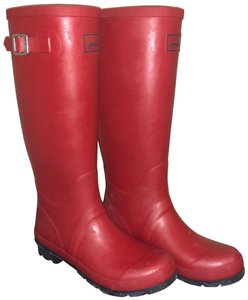 Joules Red Boots