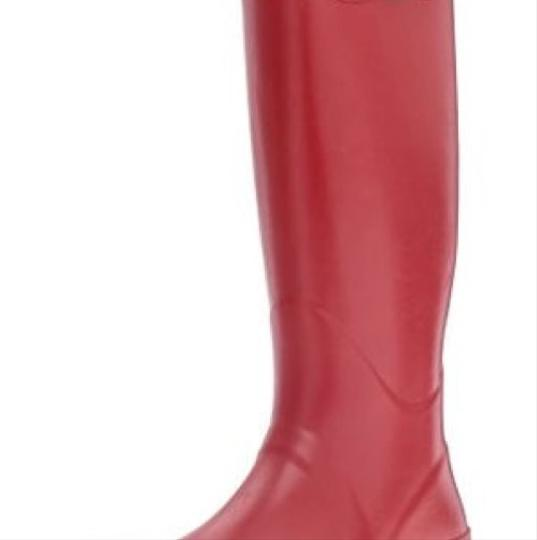 Joules Red Boots Image 1