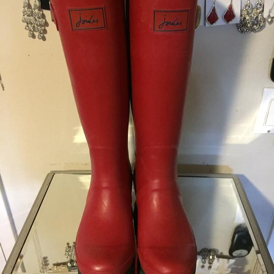 Joules Red Boots Image 2