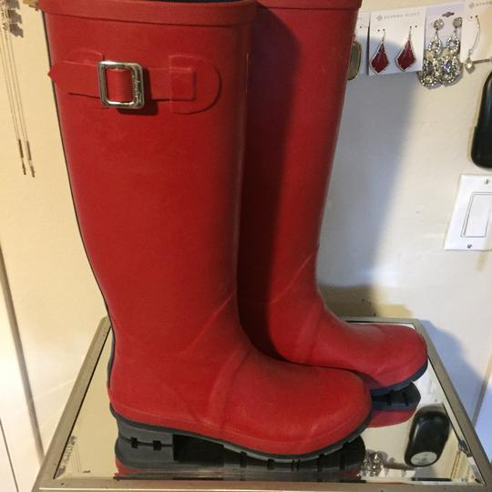 Joules Red Boots Image 3