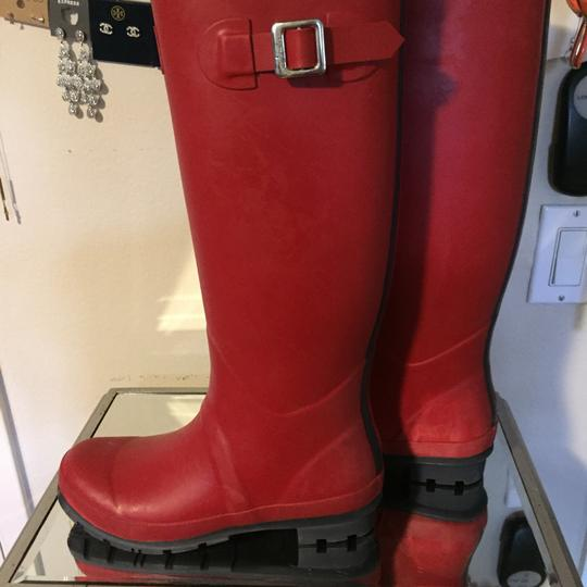 Joules Red Boots Image 5