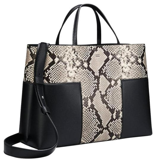 Preload https://img-static.tradesy.com/item/25024094/tory-burch-block-t-t-new-snakeskin-compartment-purse-black-leather-tote-0-1-540-540.jpg