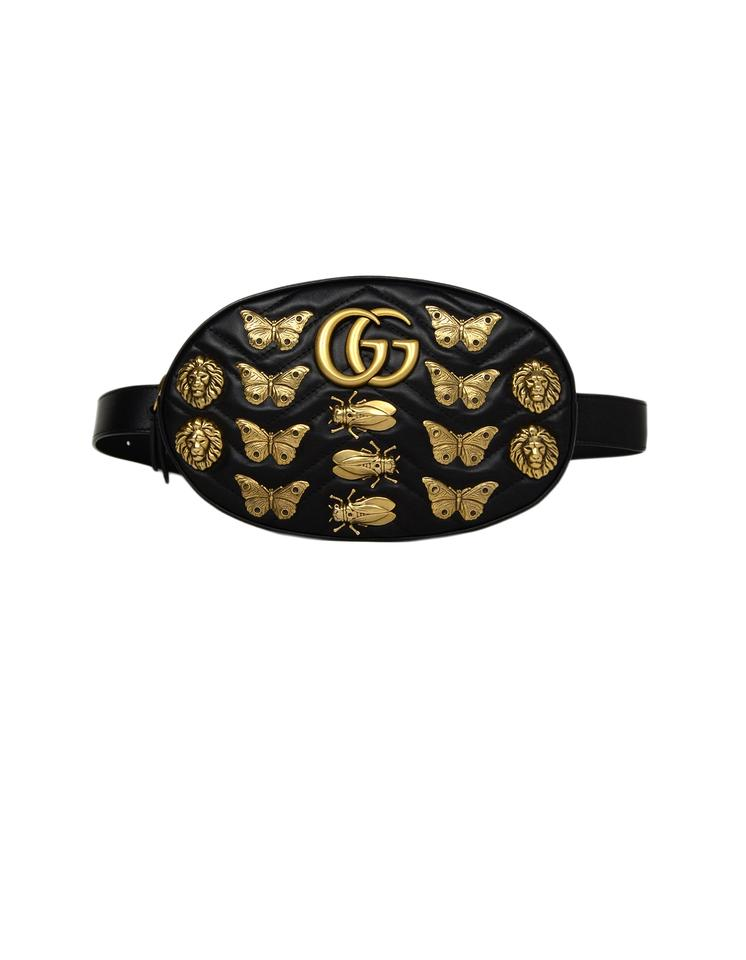 24b8cf83a54a Gucci Marmont Matelasse Gg 2.0 Insects Lion Belt 85/34