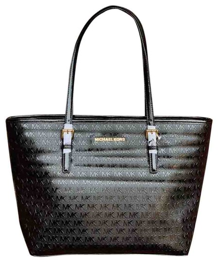 Preload https://img-static.tradesy.com/item/25024184/michael-michael-kors-jet-set-medium-signature-black-patent-leather-tote-0-1-540-540.jpg