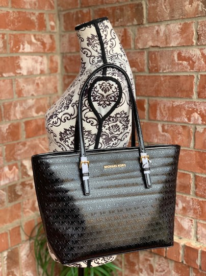 MICHAEL Michael Kors Tote in Black Image 1