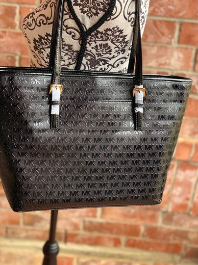 MICHAEL Michael Kors Tote in Black Image 4