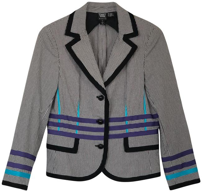 Preload https://img-static.tradesy.com/item/25024201/w-by-worth-multicolor-color-button-up-jacket-blazer-size-8-m-0-1-650-650.jpg