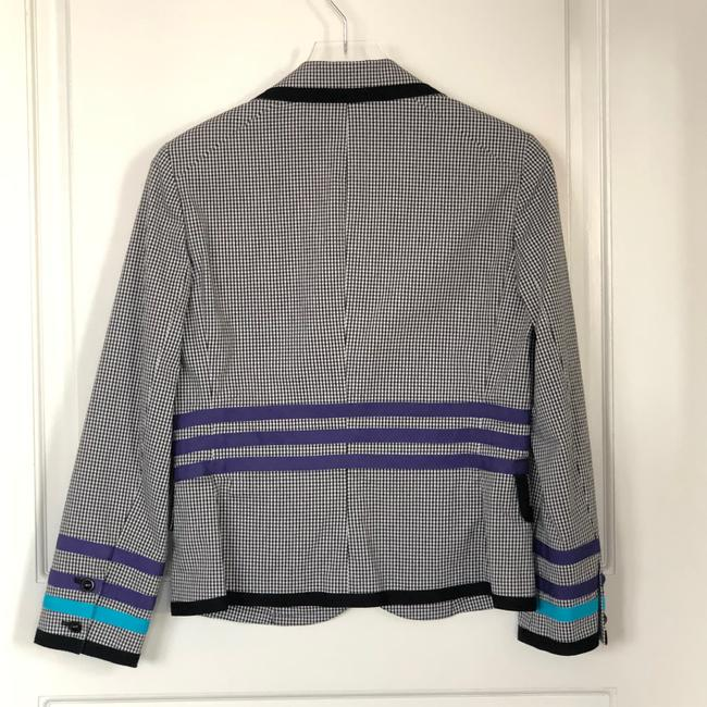 W by Worth Jackets Color Check Multi Blazer Image 2