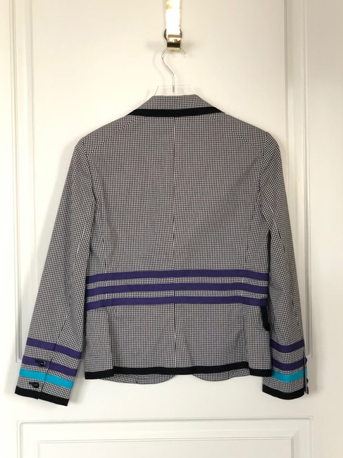 W by Worth Jackets Color Check Multi Blazer Image 3