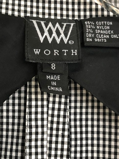 W by Worth Jackets Color Check Multi Blazer Image 9