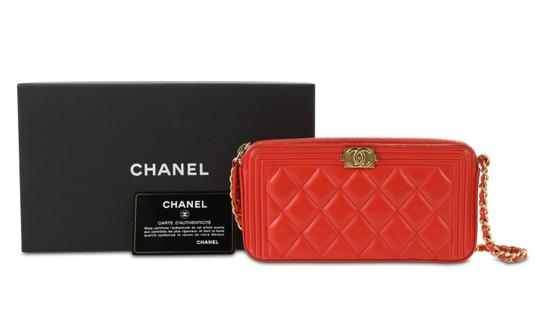 Chanel Wallet On Chain Double Cross Body Bag Image 11