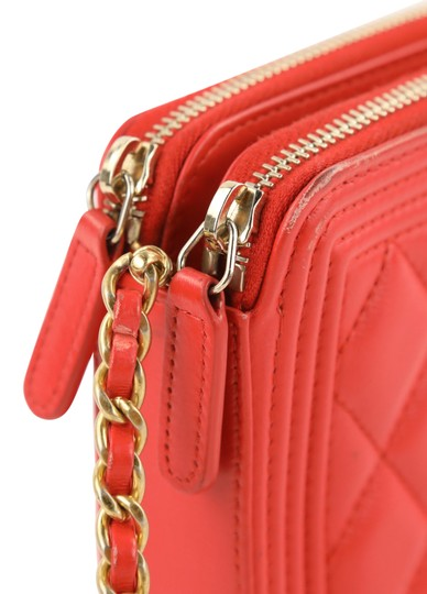 Chanel Wallet On Chain Double Cross Body Bag Image 6