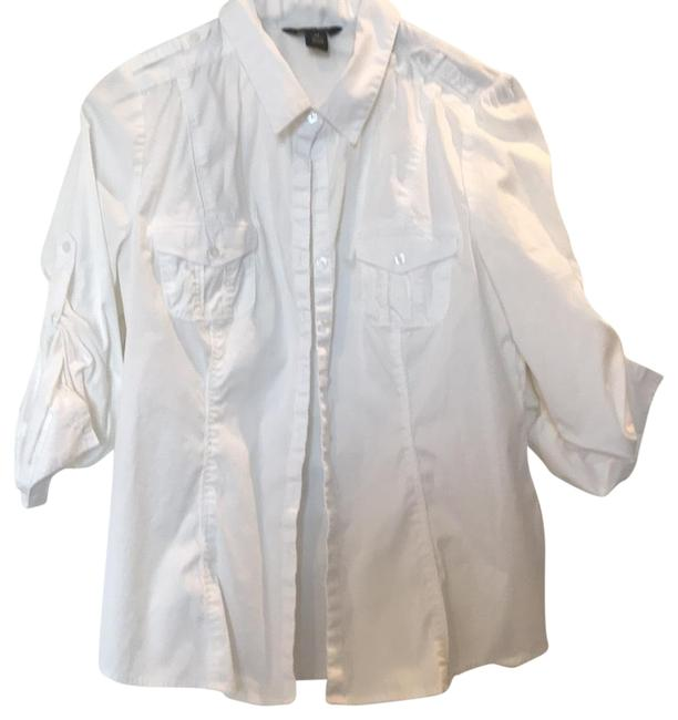 White House | Black Market Button Down Blouse Size 14 (L) White House | Black Market Button Down Blouse Size 14 (L) Image 1