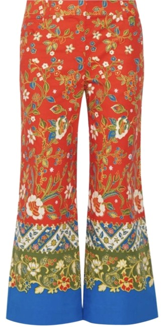 Item - Multi-color New Dayton Cropped Printed Pants Size 2 (XS, 26)