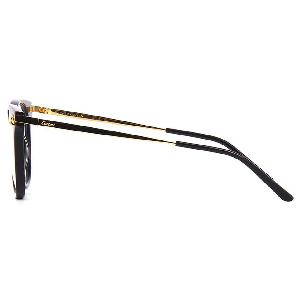 b62d515c813 Cartier Panthere De Black Gold Frame   Demo Customisable Lens ...