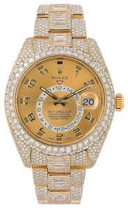 Item - Champagne Sky-dweller 326938 42mm Dial with 31.00 Ct Diamonds Watch