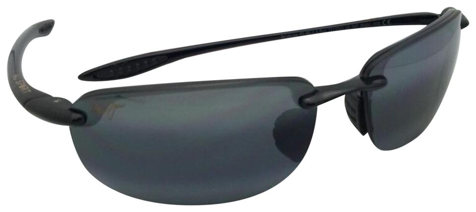 1d985afd992 Maui Jim Polarized MAUI JIM Sunglasses HO OKIPA MJ 407-02 Black w  ...