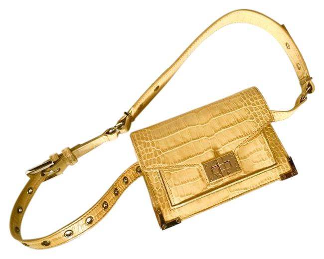 Item - Emily Beltbag Limited Edition Yellow Leather Cross Body Bag