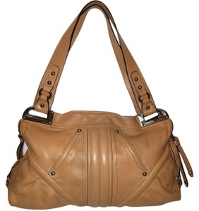 B Makowsky Large Leather Refurbished Euc Hobo Bag