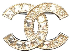 Chanel Chanel Crystal Brooch