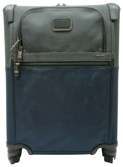 7ef7bf5165 Tumi Alpha 2 Continental Zip Expandable Carry-on 22061na2 Blue ...