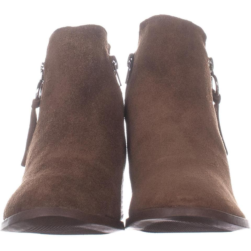 045d62c589d Steve Madden Brown Dacey Ankle 057 Cognac Suede Boots Booties Size US 9.5  Regular (M