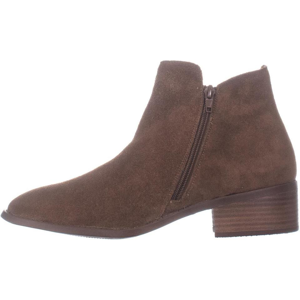 8574d52d0d5 Steve Madden Brown Dacey Ankle 057 Cognac Suede Boots Booties Size ...
